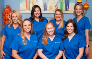 The Coppell dental team